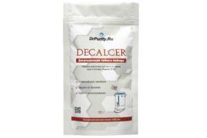Decalcer средство для чистки чайного бойлера